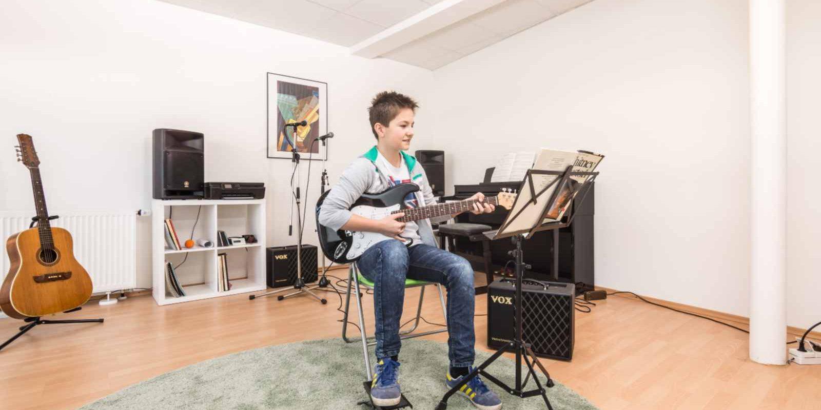 Gitarrenunterricht für E-Gitarre